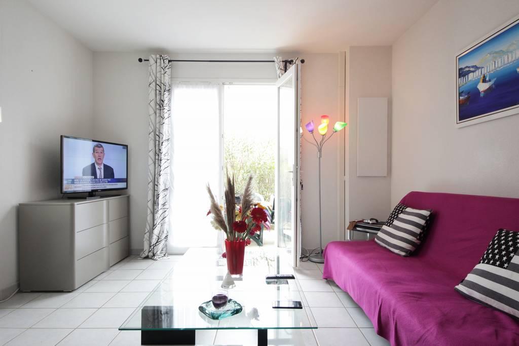 mda b5 mazet 3 pi ces r sidence les mas d 39 azur la. Black Bedroom Furniture Sets. Home Design Ideas